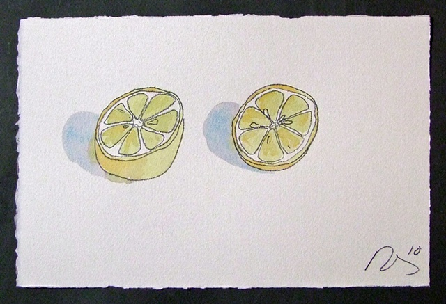 #50 Two Lemon Halves