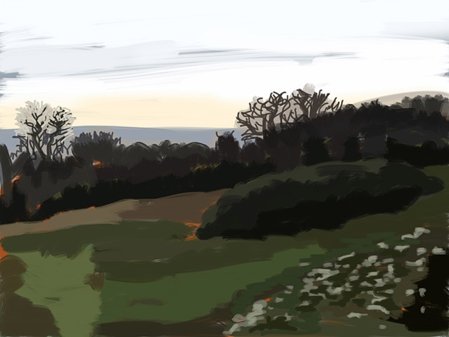#055 View from Leckhampton