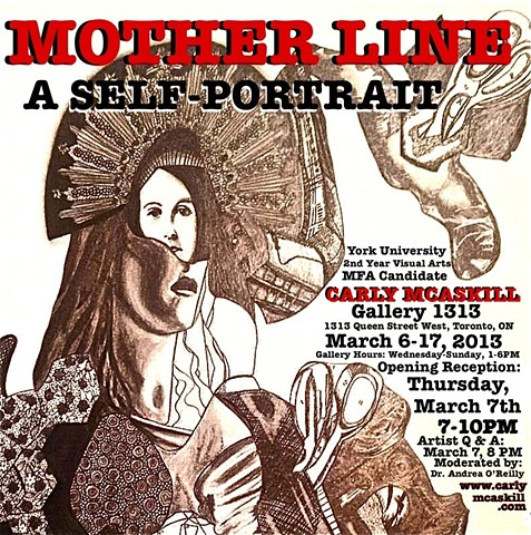 Motherline: A Self-Portrait advertising poster