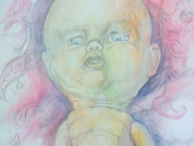 Cute Baby Doll, detail