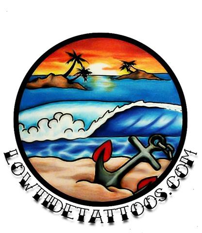 Low Tide logo.