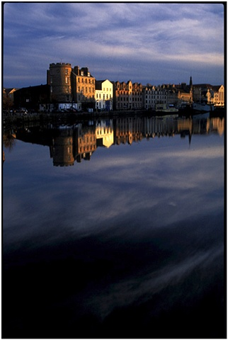 Leith Shore. Edinburgh,Scotland.