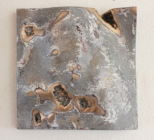 Bronze sculpture, wall sculpture