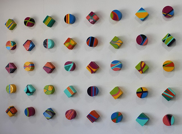 Forty (40) Rounds and Squares