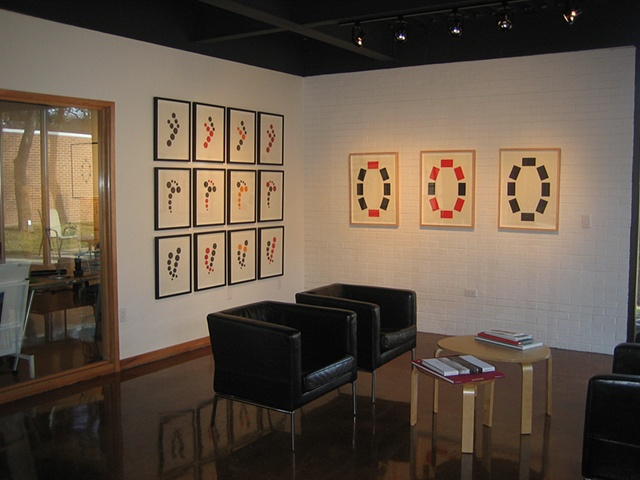 "Installation of ""Offspring"" series and ""Pearls 1 + 2"""