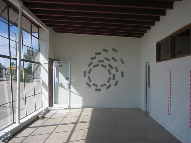 """""""3 Wall Drawings"""" The Showroom, Marfa, TX"""