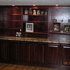 Custom Poplar cabinetry