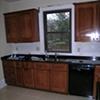 White Oak craftsman style kitchen cabinetry