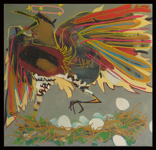 Hawks Lay Eggs