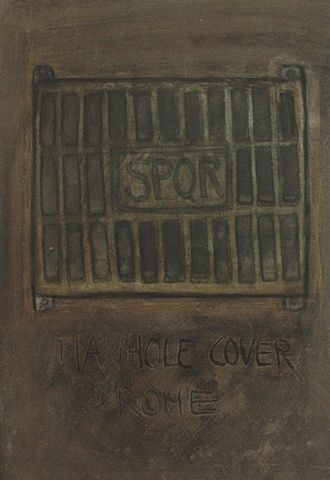 Manhole Cover Rome 2008