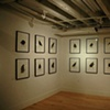 Installation view of Wise Guys