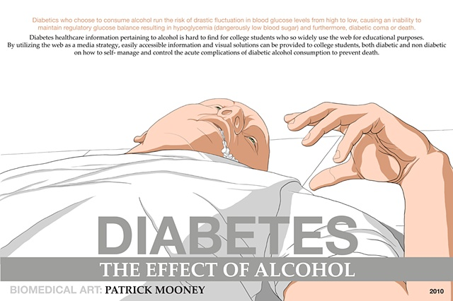 Diabetes: BFA Thesis Poster