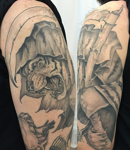 tiger reaper tattoo
