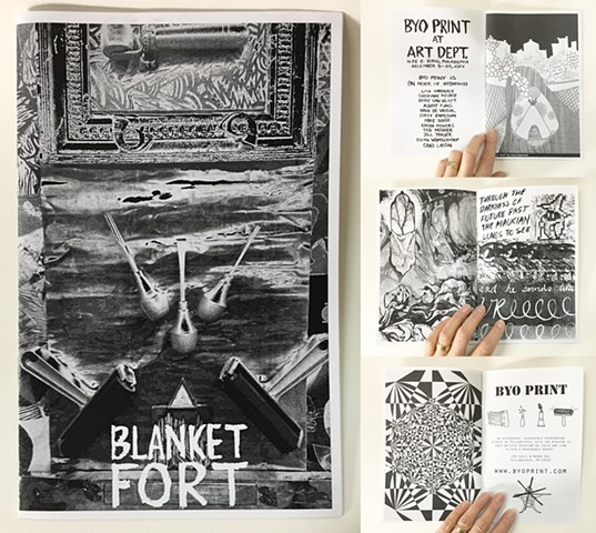 Blanket Fort: ZINE!