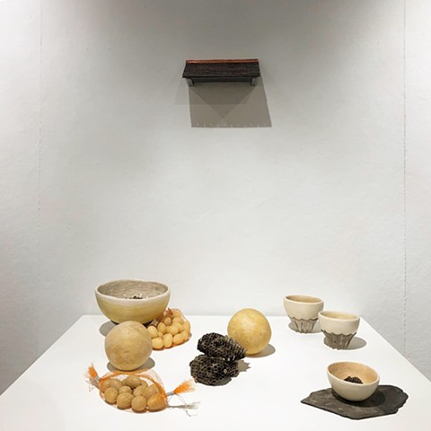 Eggs, Cups, and Egg Cups (installation view)