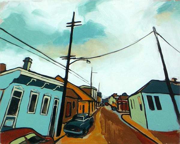 """Streetview"" Dauphine Headed East"