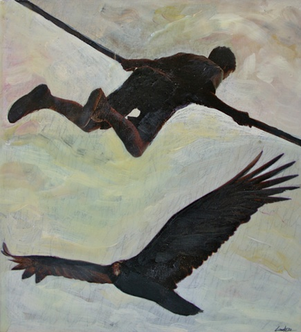 condor, flying boy
