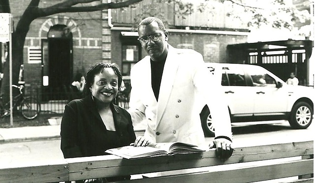 Deb Willis and Jamel Shabazz in Toronto