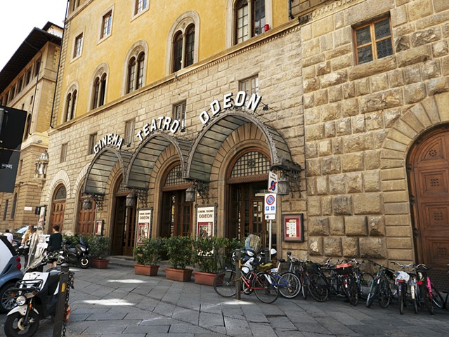 The Odeon Theatre, Florence, Italy