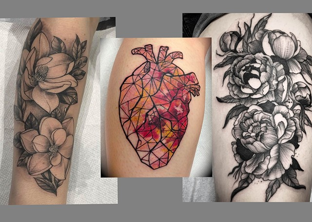 Kristina Bennett  Tattoos and Fine-ish art