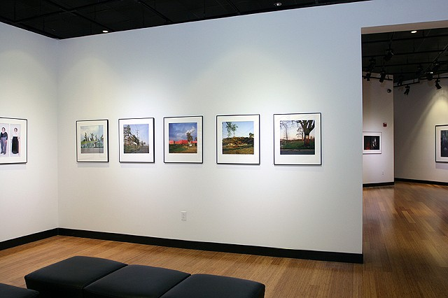 Installation of work at the Southeast museum of Photography