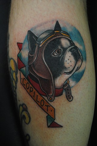 Copilot Boston Terrier