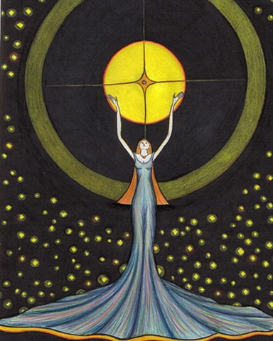 Keeper of the Stars Available as a limited edition (edition of 50) giclee
