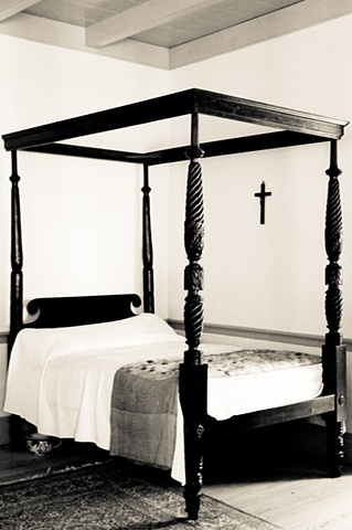 Bed with Cross