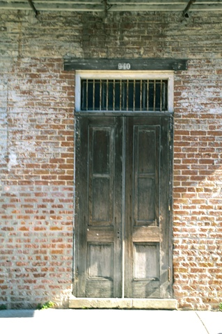French Quarter Doorway