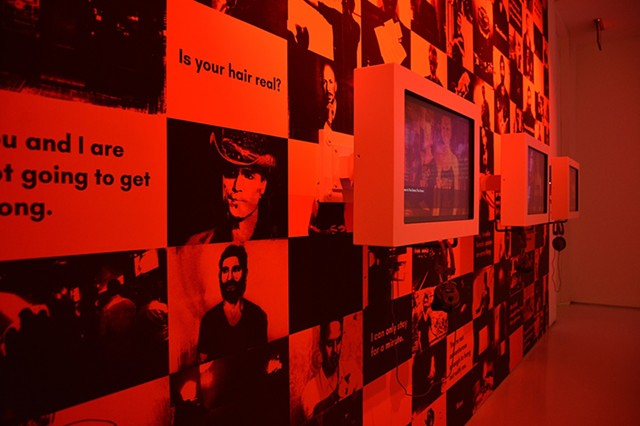 The Game: The Game installed at the Museum of Moving Image (NYC) 2018