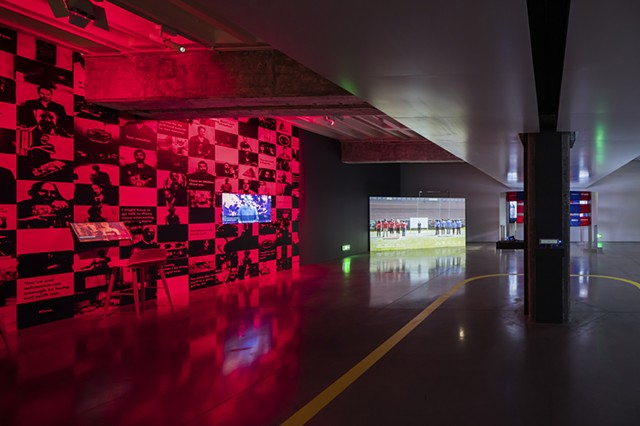 The Game: The Game installed at Hyundai Motor Studio (Beijing, China)
