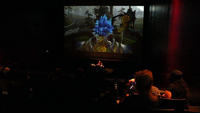 World of Warcraft Psychogeographical Association at Kiasma Museum of Contemporary Art, Helsinki