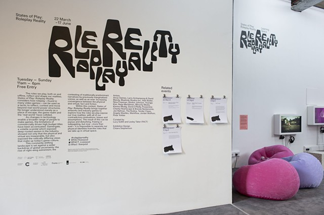 The Game: The Game at States of Play (FACT UK) - installation view (photo by Jon Barraclough))