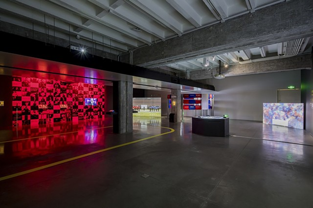 The Game: The Game installed at Hyundai Motor Studio (Beijing, China) 2020