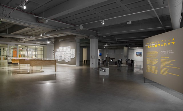 """The Council on Gender Sensitivity and Behavioral Awareness in World of Warcraft"" at Feedback #4 (installation view)"