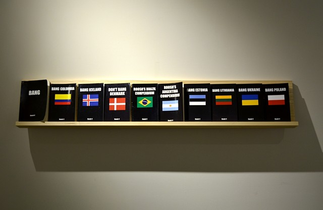 A Monopoly on Truth: San Diego Art Institute Installation