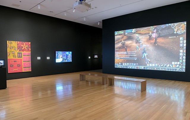 Installation View: Open World Exhibition at Akron Museum of Art 2020