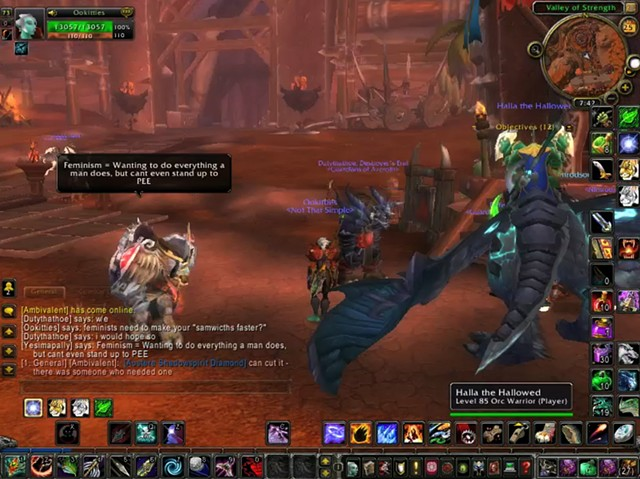 World of Warcraft Explains Feminism Live (Spattered Columns, SoHo NYC)