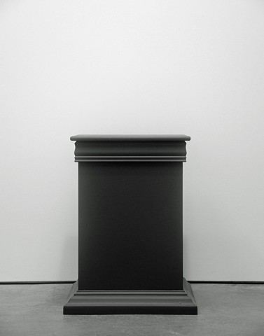Untitled (Pedestal), 2012