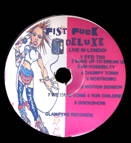 CD artwork for Fist Fuck Deluxe