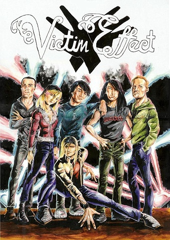 'Victim Effect' Album Cover