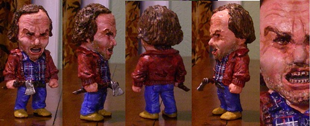 HERE'S JOHNNY!  Jack Torrence figure