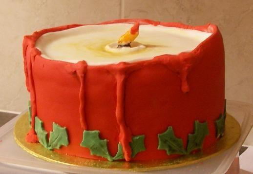 Candle cake 2012