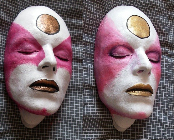 Bowie life mask