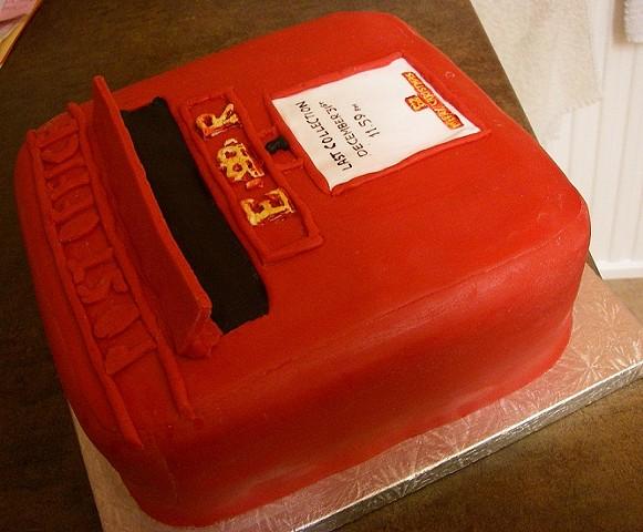 Post box cake 2013