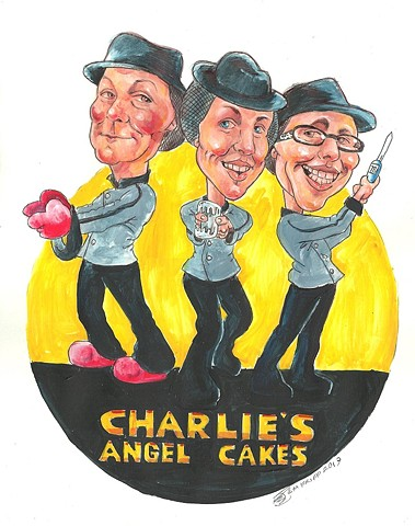 Charlie's Angel Cakes