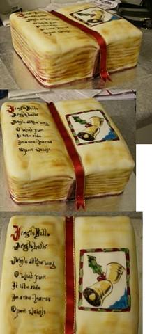 Hymn book cake 2011