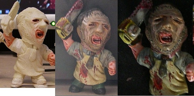 3 inch Leatherface