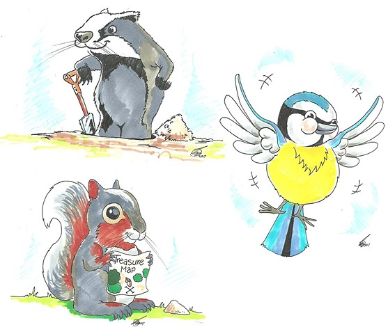 Nursery characters