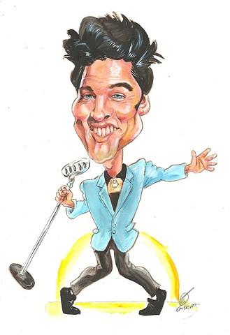 Elvis caricature